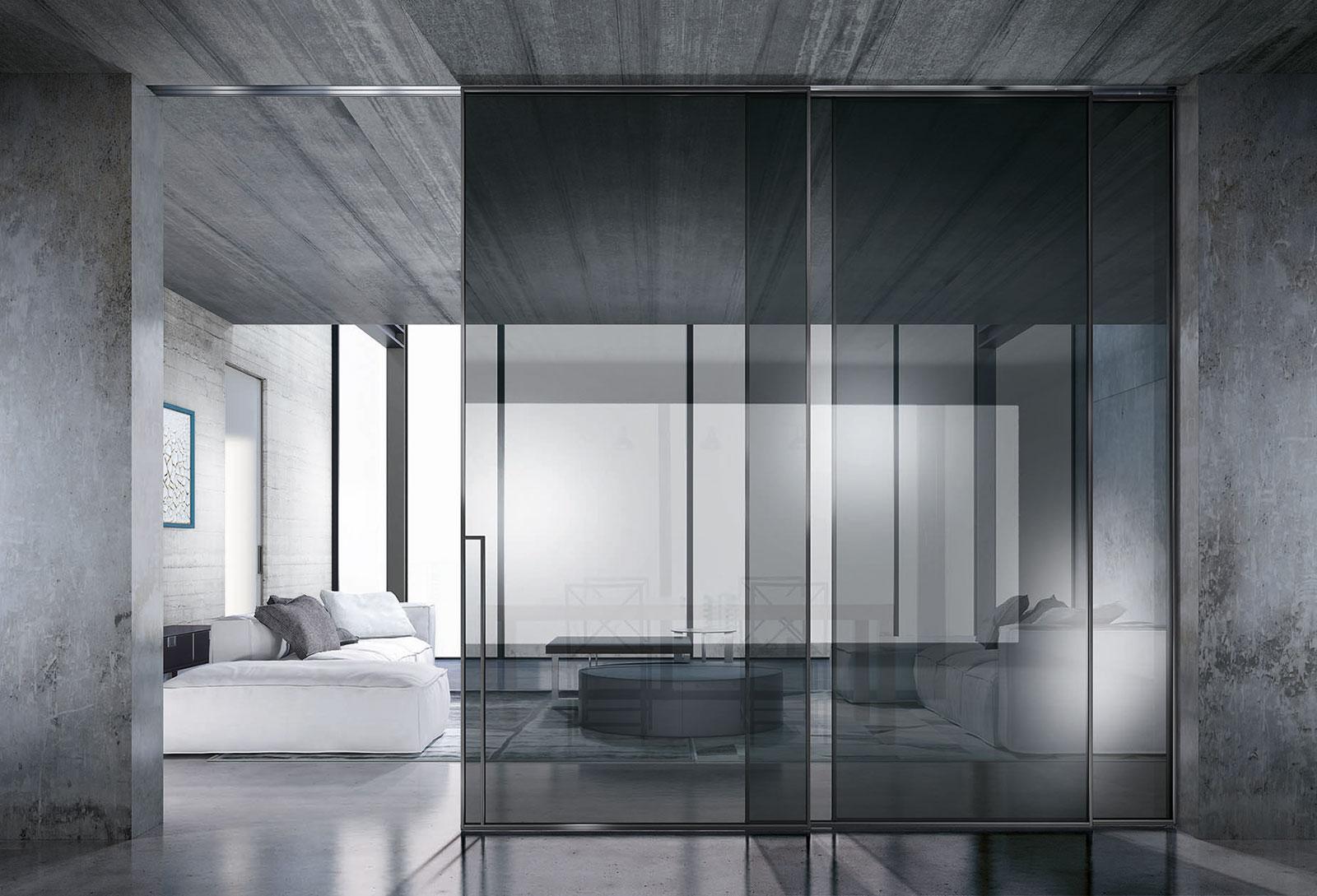 Pareti Di Vetro Scorrevoli : Porte in vetro decorate e soluzioni di design henry glass
