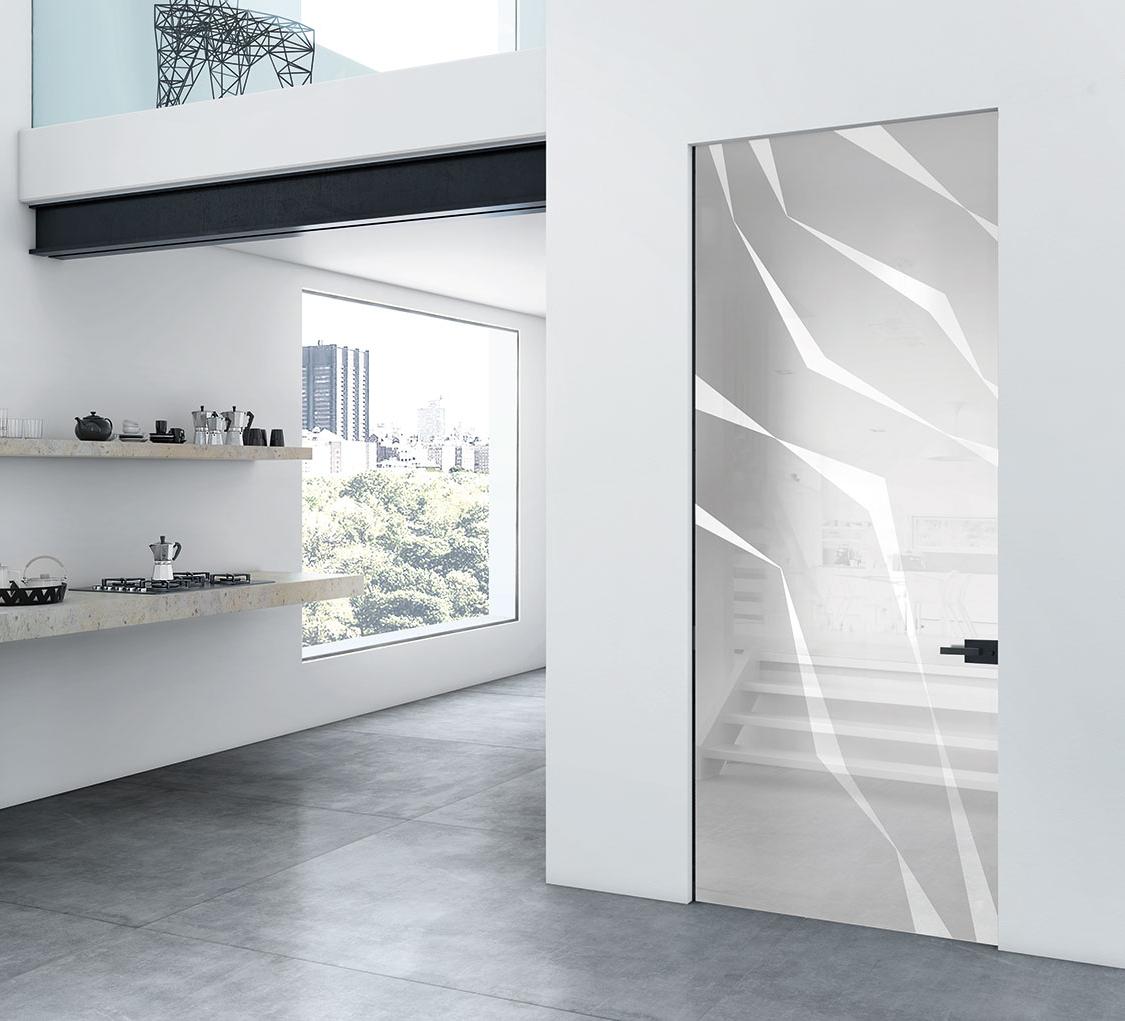 Best porta vetro battente photos - Porte in vetro design ...