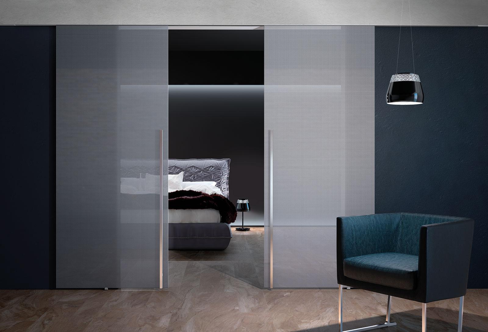 Binari Per Ante Scorrevoli In Vetro.Inside Porte Sistemi Henry Glass