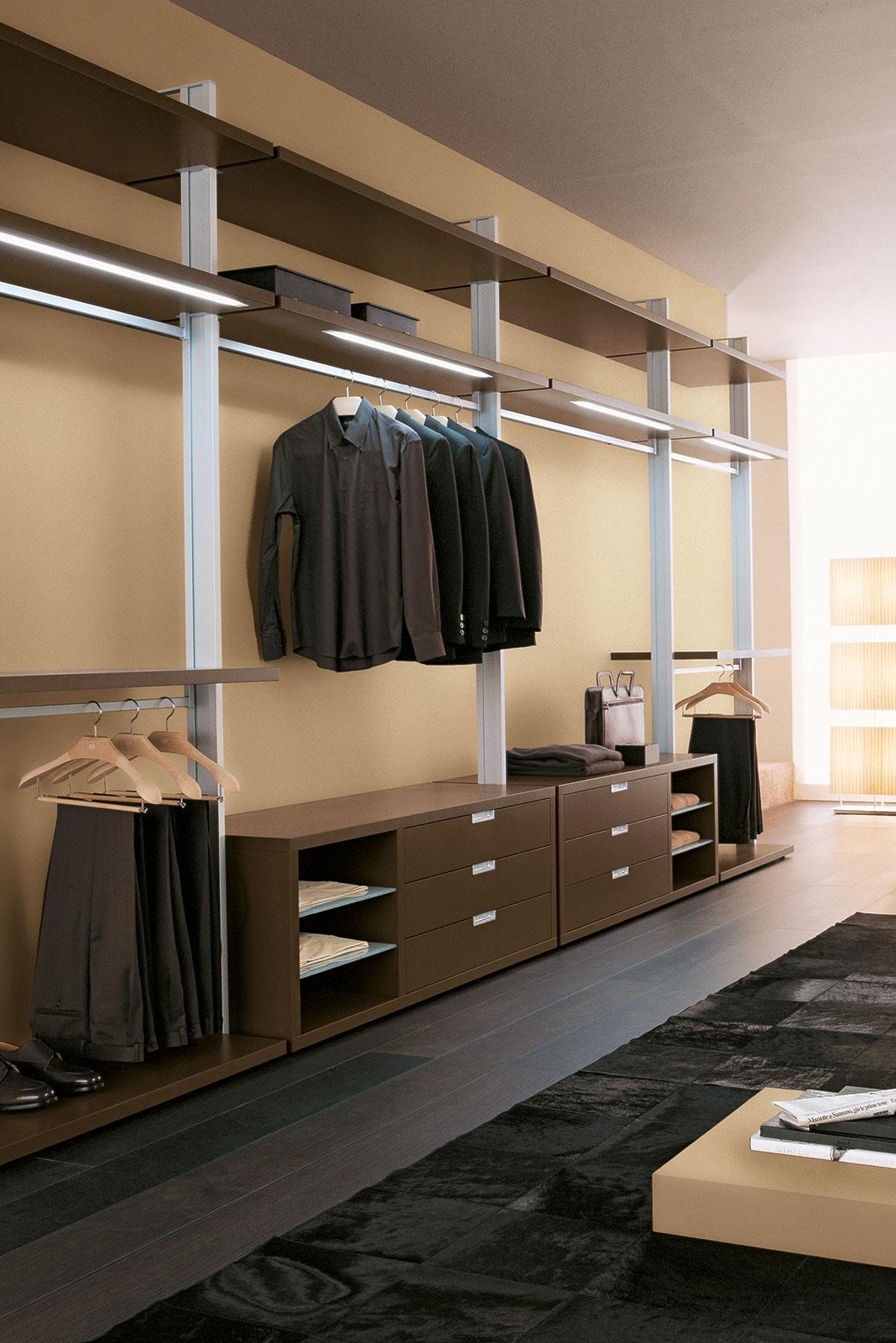 cabina armadio su misura - porte & sistemi   henry glass