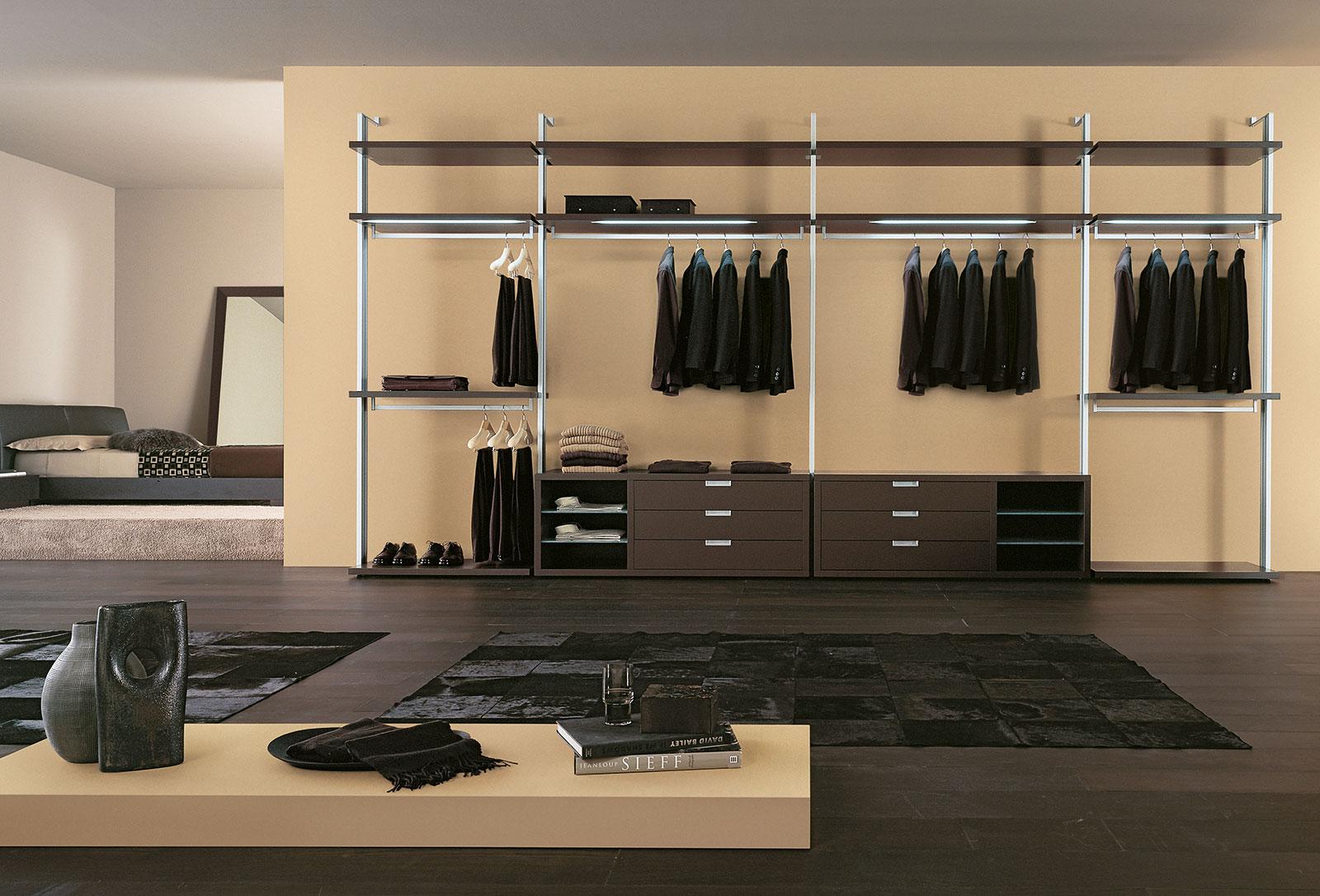 Cabina Armadio Bassa : Cabina armadio su misura porte & sistemi henry glass