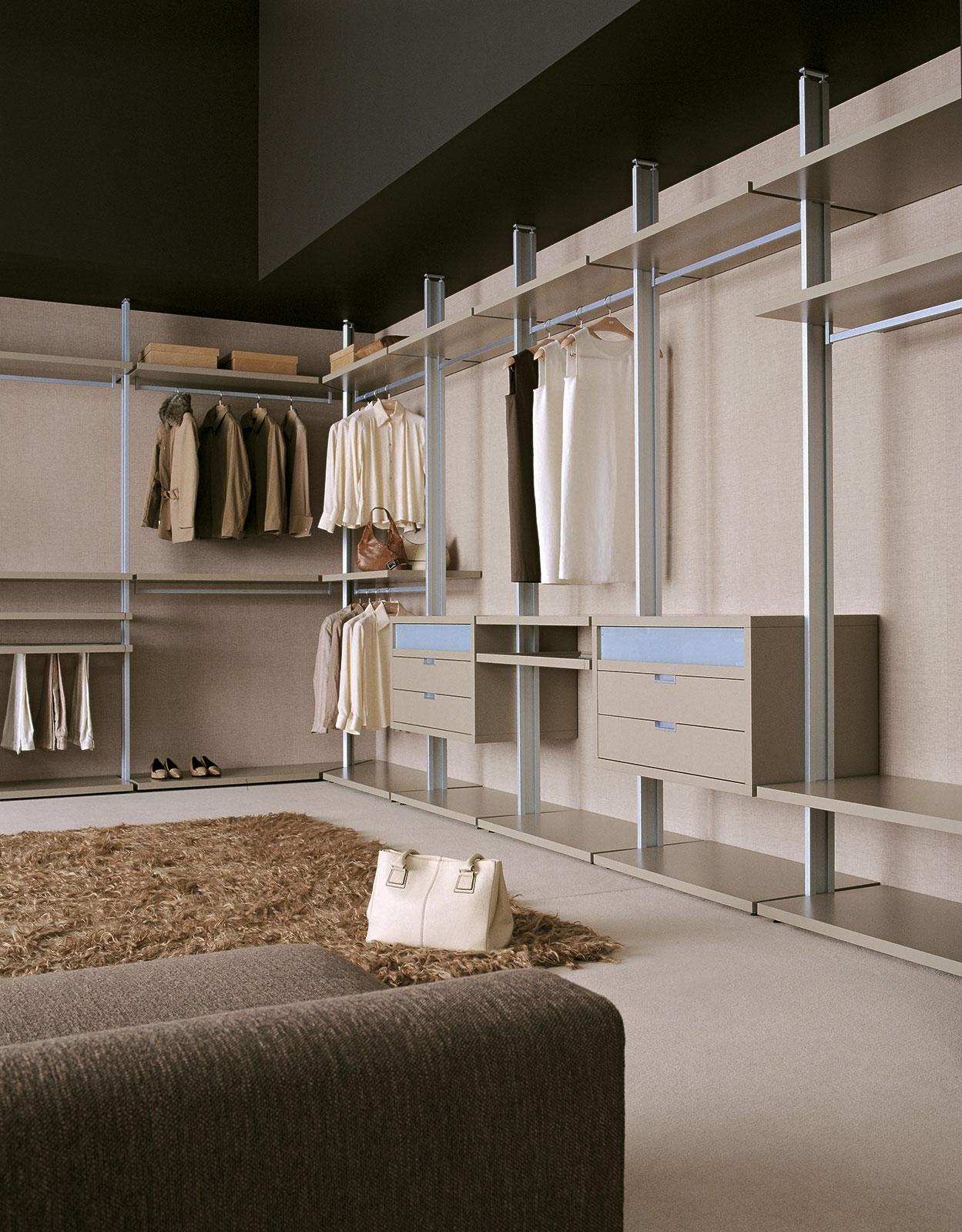 Cabina armadio su misura vesta henry glass for Cabina armadio