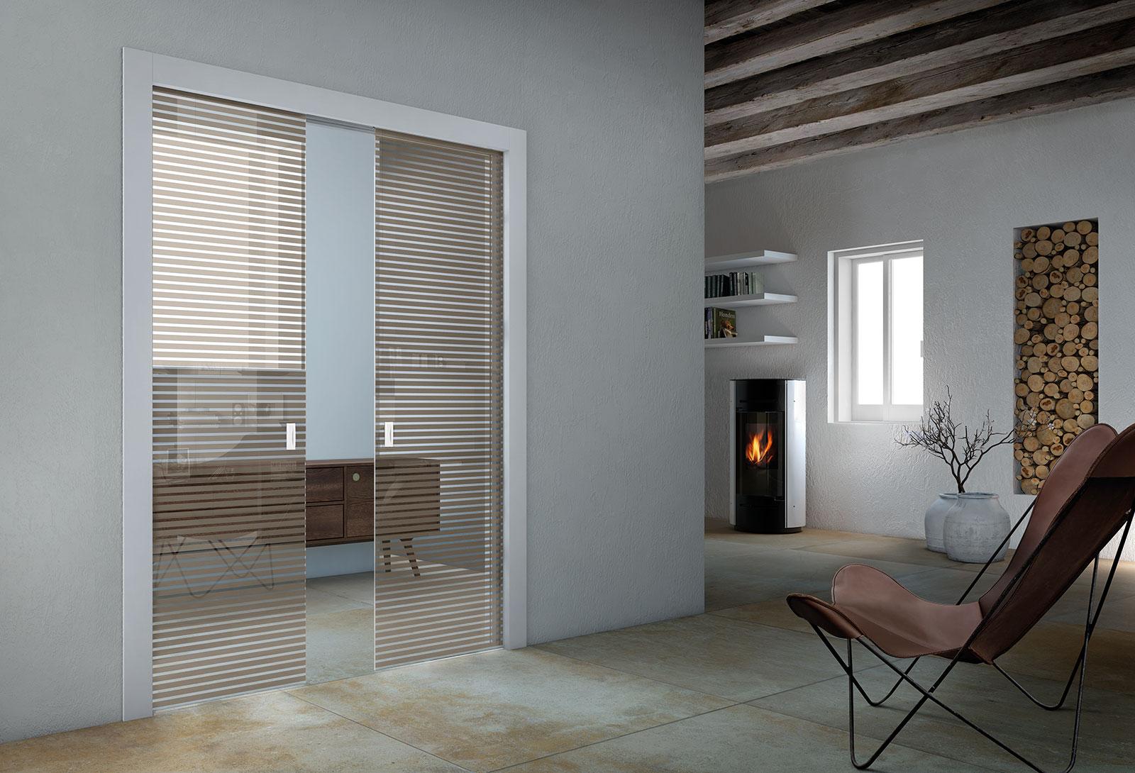 Porte Tutto Vetro Scorrevoli.Porte Scorrevoli In Vetro Il Design Tuttovetro Henry Glass