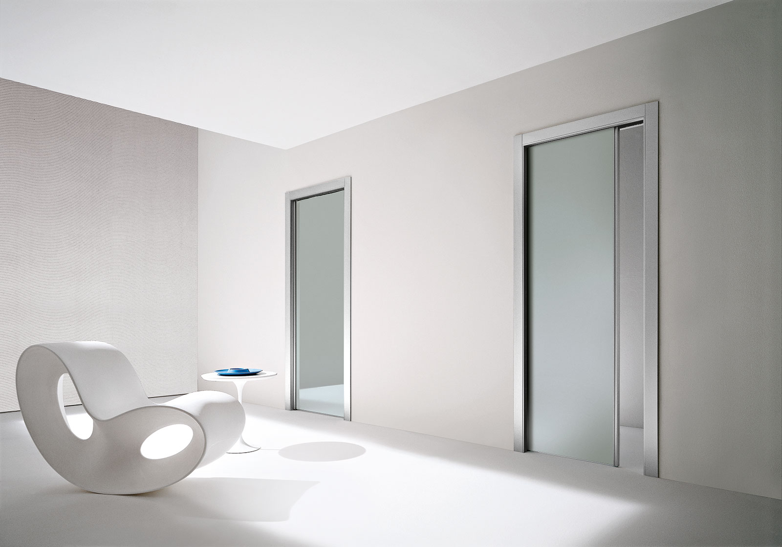 Porte In Alluminio Anodizzato fly - porte & sistemi | henry glass