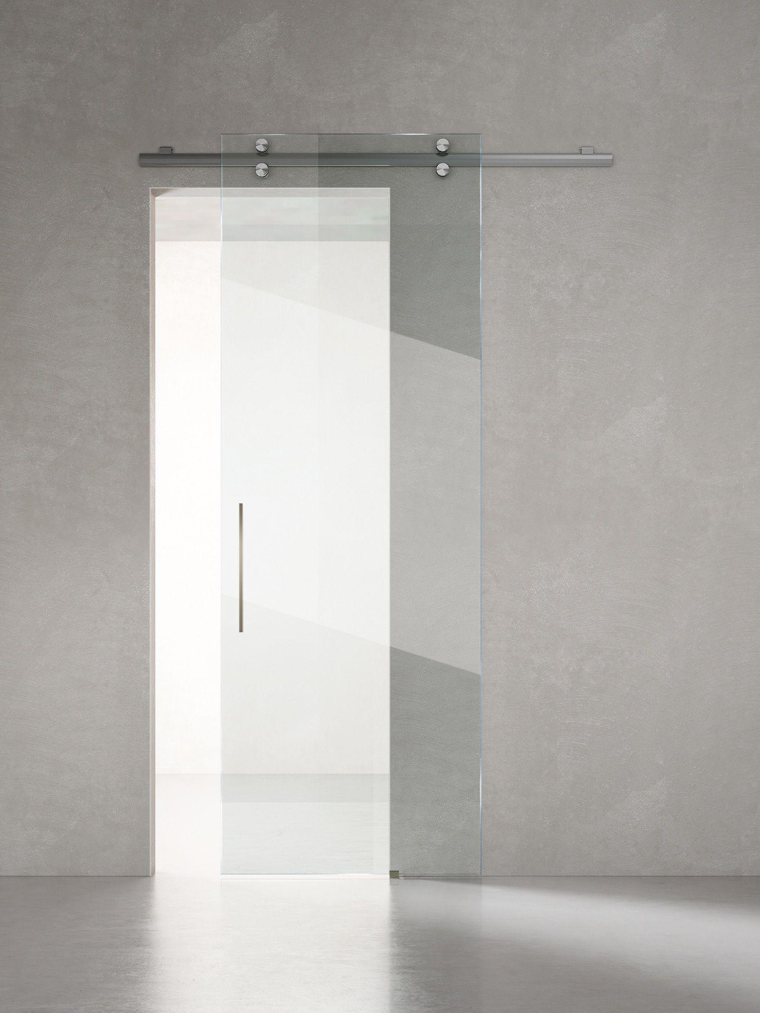 Porte Scorrevole Esterno Muro.Linea Vitra Porta Scorrevole Esterno Muro Porte Sistemi Henry Glass